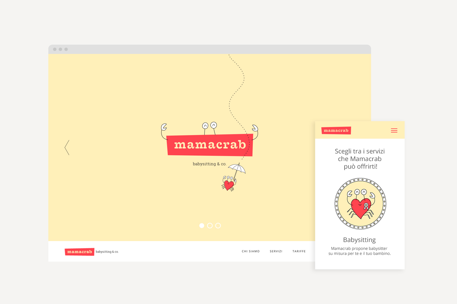 sito mamacrab home_web