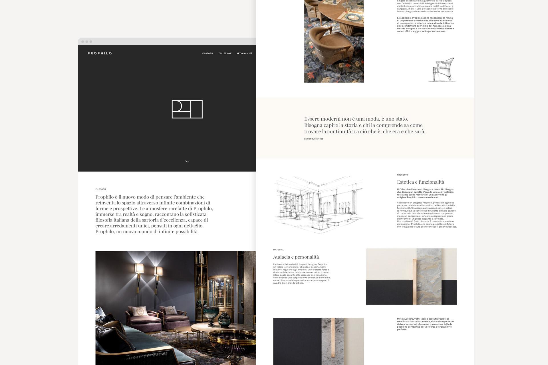 sito prophilo overview_web